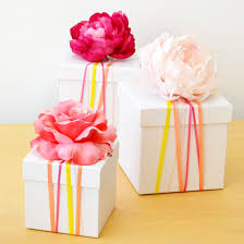 wrapped gift boxes ditch the wrapping paper and try this 5 minute diy ribbon wrapped