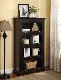 sauder 4 shelf bookcase lawyer bookcase sauder barrister bookcase glass doors doherty