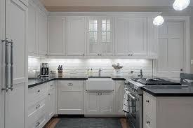 blue tile backsplash kitchen u shaped kitchen designs with breakfast bar tile backsplash