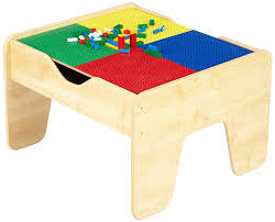 amazon com kidkraft lego compatible 2 in 1 activity table toys