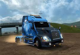 volvo trailer truck volvo vnl 670 avatar skin mod american truck simulator mod ats mod