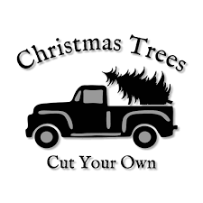 Vintage Ford Truck Decor - christmas trees cut your own vintage truck stencil wood