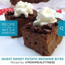quest nutrition sweet potato brownie bites the bloq