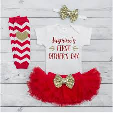 s day gift from baby baby girl personalized s day set fathers day tutu