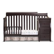 Td Furniture Outlet by Sorelle Princeton 4 In 1 Convertible Crib With Changer Espresso