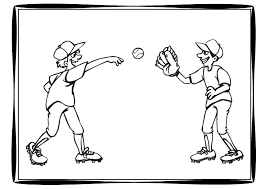 baseball coloring pages free teacher worksheets