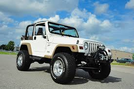 modified white jeep wrangler davis autosports 2001 jeep wrangler lifted modified 63k for sale