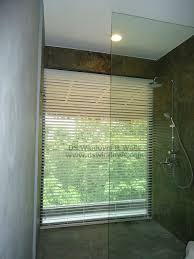 Waterproof Blinds Waterproof Foam Wood Blinds For Large Bathroom Window Great For