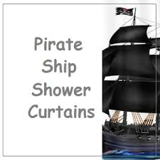 Pirate Bathroom Decor by Best Pirate Ship Shower Curtain For The Bathroom Decor