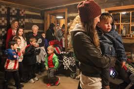 Christmas Village Sets Heritage Farm U0027s Christmas Village Sets Holiday Mood News