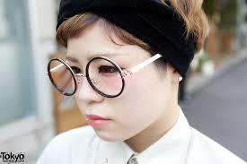 Kakavaka Maxi Shirt Dress W Round Glasses Short Hairstyle