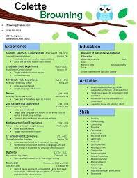 sample teacher resume template eliolera com