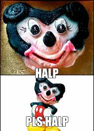 Cancer Face Meme - hey mickey there s a bit of face in your cancer by mr nox meme