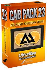 Orange Cabinet 4x12 Fractal Audio Systems Cab Packs