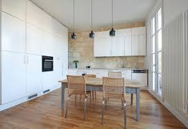 hauteur de cuisine hauteur des meubles de cuisine awesome trendy deco hauteur entre