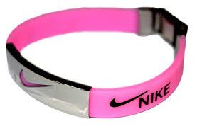 pink silicone bracelet images 16 best nike wristband and lanyard images nike jpg