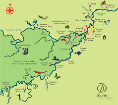 Amazon River World Map by Amazon River Cruise 5 Days Wild Earth Travel