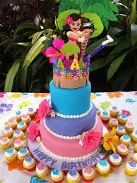 Luau Cake Decorations Ever After Cake Designs Birthday Cakes Hawaiian Luau Birthday Cake