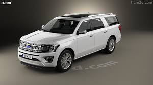 2017 ford expedition platinum 360 view of ford expedition max platinum 2017 3d model hum3d store