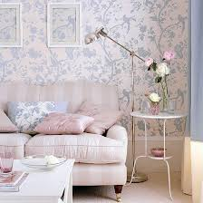 livingroom wallpaper how to decorate with pastels 4 easy tips blue floral wallpaper