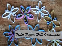 diy paper towel roll ornaments