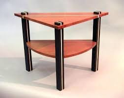Triangle Accent Table Awesome Stunning Triangle Accent Table Triangle End Tables