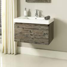 Wall Mounted Vanity Sink Acacia 30x18