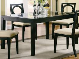 Kitchen Chairs  Awesome Black Wooden Kitchen Chairs Kitchen - Black kitchen tables