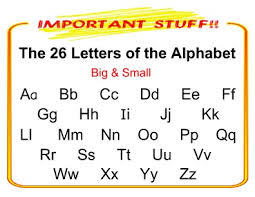 big and small alphabet chart templates pageprodigy u2013 print for 1