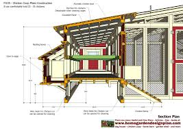 Small Backyard Chicken Coop Plans Free by Home Garden Plans M105 Chicken Coop Plans Construction