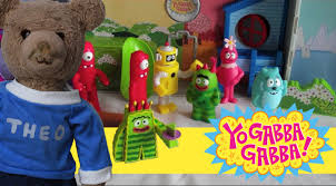 yo gabba gabba toy boom box playset