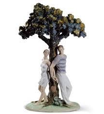 lladró porcelain figurines the tree of