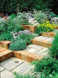 Brick Stairs Design How To Build A Garden Stairs Design As A Decorative Element