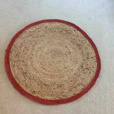 Red Round Rugs by Round Carpet Clipart In The Living