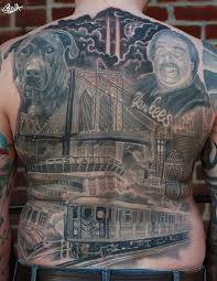 tattoo pictures of new york new york back tattoo by marvin silva tattoos