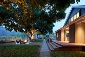 wine country farmhouse in calistoga ca by bohlin cywinski jackson