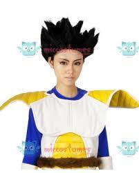 Vegeta Halloween Costume Dragon Ball Vegeta Cosplay Wig Sale