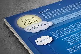 Resume Skills Sample Hrm Resume by A Creative Nanny Resume Blue Raspberry