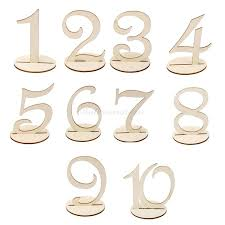 diy table number holders table number stands cool restaurant table numbers restaurant