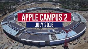apple campus 2 july 2016 construction update 4k youtube