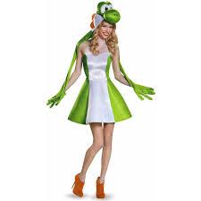 Mario Costumes Halloween Super Mario Bros Yoshi Female Women U0027s Halloween Costume