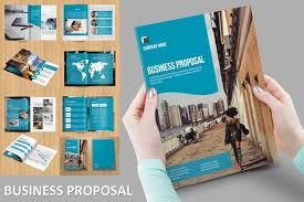 modern business proposal by template shop on creative market