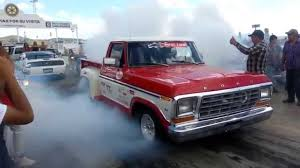 Old Ford Drag Truck - best drag race moto hayabuza 1300cc twin turbo vs 79 ford mass