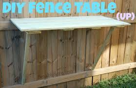 Creative Diy Wood Ls Diy Fence Table