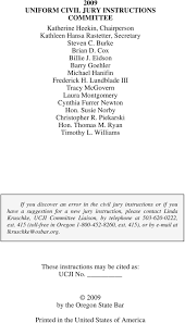 ny pattern jury instructions lexis oregon uniform civil jury instructions pdf