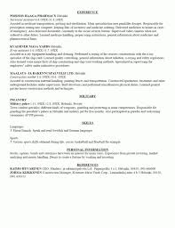 resume sle template resumes sle infantry resume army pertaining builder
