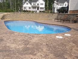 Average Cost Of Backyard Landscaping Average Cost Of Inground Pool Swimming Pool Retaining Walls And