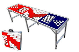 how long is a beer pong table amazon com 8 foot professional beer pong table w cup holes beer