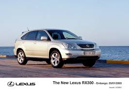 lexus rx300 specs 2002 new lexus rx300 makes its world debut at the detroit motor show