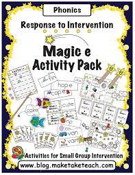 activities for teaching the magic e rule make take u0026 teach